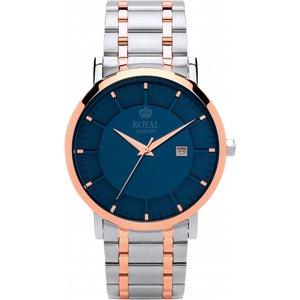 Mens Royal London Classic Watch 41367-04 Blue / Two Tone, Blue / Two tone
