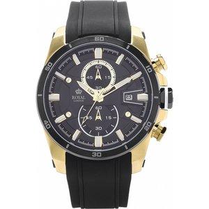 Mens Royal London Watch 41275-05 Black / Black, Black / Black