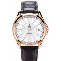 Mens Royal London Westminster Automatic Watch 41152-05 White / Black, White / Black