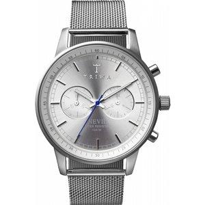 Mens Triwa Stirling Nevil 2.0 Chronograph Watch Nest101:2-me021212 Silver / Silver, Silver / Silver