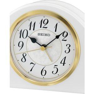 Seiko Clocks Mantel Alarm Clock Qxe054w