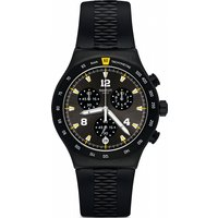 Swatch Chrononero Watch Yvb405 Black, Black