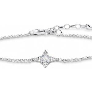 Thomas Sabo Jewellery Zirconia Lucky Charms Bracelet A1918-051-14-l19v
