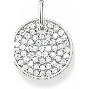 Thomas Sabo Jewellery Thomas Sabo Sparkling Circles Disc Pendant Lbpe0011-051-14