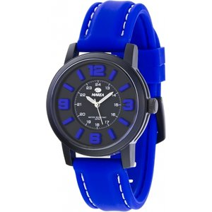 Unisex Marea Nineteen Watch B41162/8 Black / Blue, Black / Blue