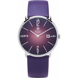 Unisex Royal London Classic Slim Watch 41369-04 Blue / Purple, Blue / Purple