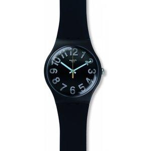 Unisex Swatch Secret Numbers Watch Suob133 Black / Black, Black / Black