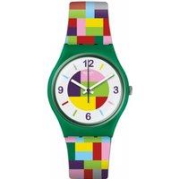 Unisex Swatch Tet-wrist Watch Gg224 Multicolour / Multicolour, MultiColour / Multicolour