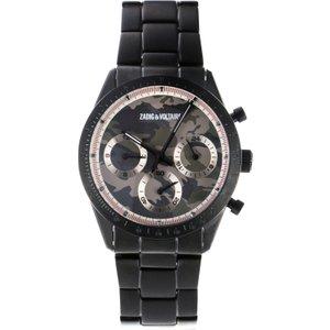 Unisex Zadig & Voltaire Master Chronograph Watch Zvm126 Multicolour / Black, MultiColour / Black