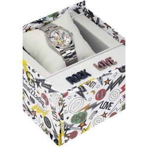 Zadig & Voltaire Rock Love Fusion Watch Zvxm18b Multicolour / Silver, MultiColour / Silver