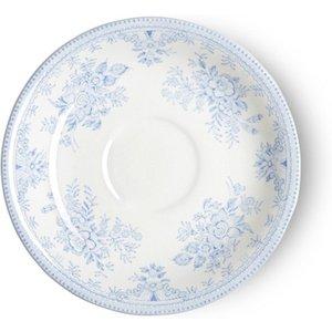 Burleigh Pottery Blue Asiatic Pheasants Tea Saucer Seconds 813050002 Crockery