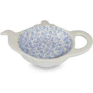 Burleigh Pottery Blue Felicity Mini Teapot Tray Seconds 819052709 Crockery
