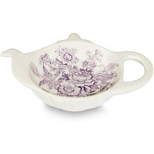 Burleigh Pottery Plum Asiatic Pheasants Mini Teapot Tray 810012709 Crockery