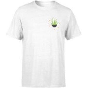 By Iwoot Aloe Vera T-shirt - White - 5xl - White Mt 1203 Ffffff 5xl General Clothing, White