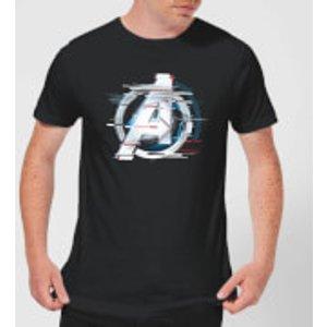Marvel Avengers: Endgame White Logo Men's T-shirt - Black - Xxl - Black Mt 13851 000000 Xxl General Clothing, Black