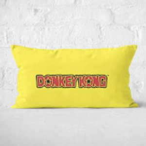 Nintendo Donkey Kong Rectangular Cushion - 30x50cm - Soft Touch  Cur 16215 30x50 St Home Accessories