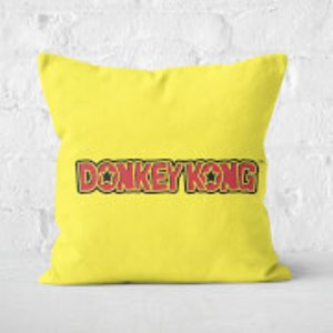Nintendo Donkey Kong Square Cushion - 40x40cm - Soft Touch  Cu 16216 40x40 St Home Accessories