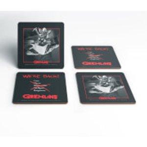 Gremlins Stripe Coaster Set  Coa 20678 Home Accessories