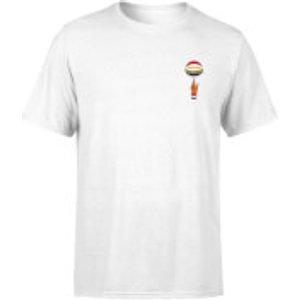 Harlem Globetrotters Unisex T-shirt - White - Xxl Mt 33746 Ffffff Xxl General Clothing, White