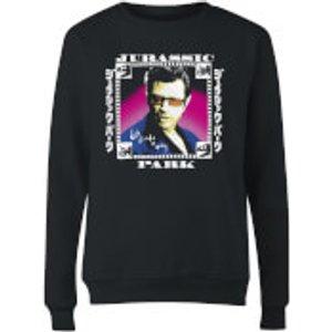 Jurassic Park Evergreen Jurassic Park Jeff Women's Sweatshirt - Black - 3xl Ws 33482 000000 3xl General Clothing, Black