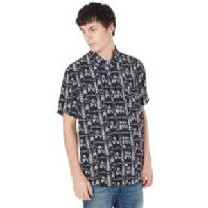 Own Brand Limited Edition The Big Lebowski Printed Shirt - Zavvi Exclusive - Xl Black Fbs20sh003 Gifts, Black