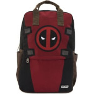 Loungefly Marvel Deadpool Cosplay Square Nylon Backpack  Mvbk0093 General Clothing