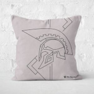 Magic: The Gathering Theros: Beyond Death Helmet Profile Square Cushion - 50x50cm - Eco Fr  Cu 25425 50x50 Ef Home Accessories