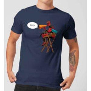 Marvel Deadpool Director Cut Men's T-shirt - Navy - L - Navy Mt 4553 263147 L General Clothing, Navy