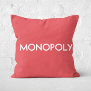 Monopoly Go Square Cushion - 50x50cm - Eco Friendly  Cu 16378 50x50 Ef Home Accessories