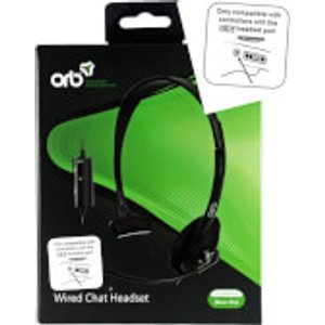 Orb Wired Chat Headset  20926 Console Accessories