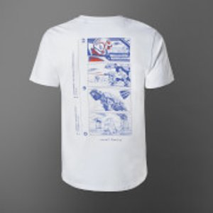 Star Wars Attack On Echo Base Unisex T-shirt - White - Xl - White Mt 29141 Ffffff Xl General Clothing, White