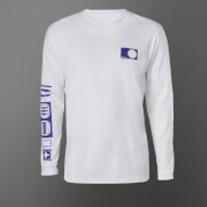 Star Wars R2-d2 Long Sleeve Unisex T-shirt - White - Xl - White Mls 29267 Ffffff Xl General Clothing, White