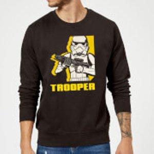 Star Wars Rebels Trooper Sweatshirt - Black - Xl - Black Ms 6364 000000 Xl General Clothing, Black