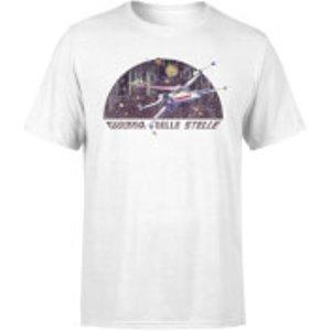 Star Wars X-wing Italian Men's T-shirt - White - Xl - White Mt 14253 Ffffff Xl General Clothing, White