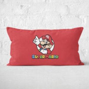 Nintendo Super Mario Rectangular Cushion - 30x50cm - Soft Touch  Cur 16219 30x50 St Home Accessories