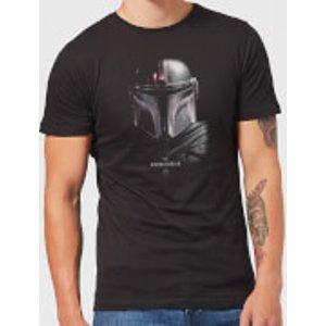 Star Wars The Mandalorian Poster Men's T-shirt - Black - Xxl - Black Mt 22487 000000 Xxl General Clothing, Black