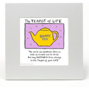 The Teapot Of Life By Edward Monkton  Em1013 Home Accessories