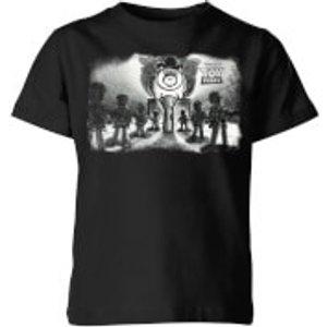 Pixar Toy Story Evil Dr Pork Chop Speech Kids' T-shirt - Black - 11-12 Years - Black Yt 5739 000000 Yxl General Clothing, Black