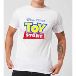 Pixar Toy Story Logo Men's T-shirt - White - Xs - White Mt 5774 Ffffff Xs Home Accessories, White
