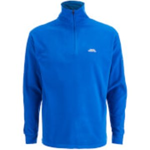 Trespass Men's Masonville Half Zip Fleece Jumper - Electric Blue - S - Blue Maflmfj20003 Mens Clothing, Blue