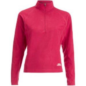 Trespass Women's Shiner Half Zip Fleece Jumper - Cerise - S Pink Faflmfg20002 Womens Clothing, Pink