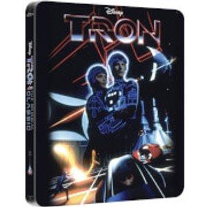 Walt Disney Studios Tron - Zavvi Exclusive Limited Edition Steelbook  Buy0210301 Blu Ray