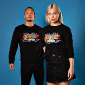 Uss Enterprise Crew Star Trek Sweatshirt - Black - 5xl - Black Ms 21898 000000 5xl General Clothing, Black
