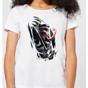 Marvel Venom Chest Burst Women's T-shirt - White - 4xl - White Wt 5365 Ffffff 4xl General Clothing, White