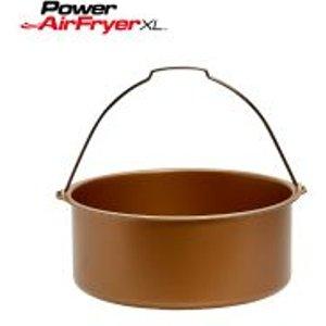 Power Air Fryer Xl Non-stick Baking Barrel (5l) Pafbb5 Food, Pink + Blue