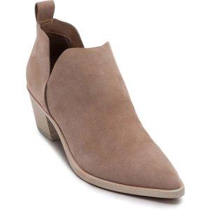 Beige Dolce Vita Sonni Western Ankle Bootie  754530