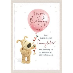 Boofle Super Special Daughter Birthday Card , Giant Size By Moonpig Boof213