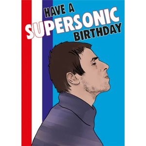 Cheeky Chops Have A Supersonic Birthday Card, Standard Size By Moonpig Ckp107 St