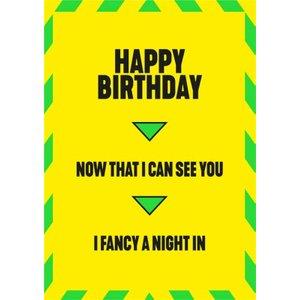 Cheeky Funny Lockdown Birthday Card, Standard Size By Moonpig Fse003 St