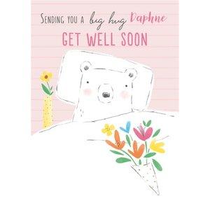 Cute Sending You A Big Hug Get Well Soon Card, Giant Size By Moonpig Pino003